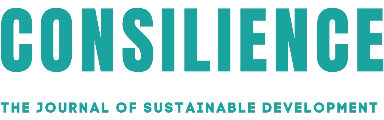link to Consilience: The Journal of Sustainable Development site