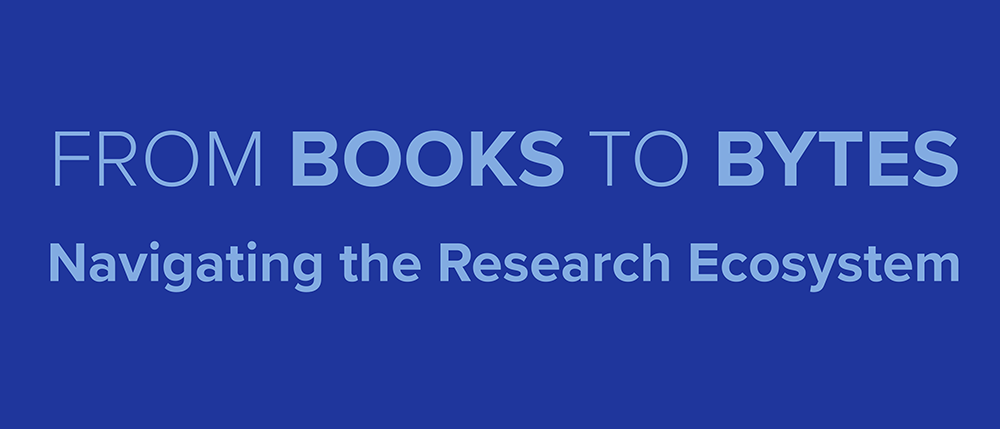 link to From Books to Bytes: Navigating the Research Ecosystem site
