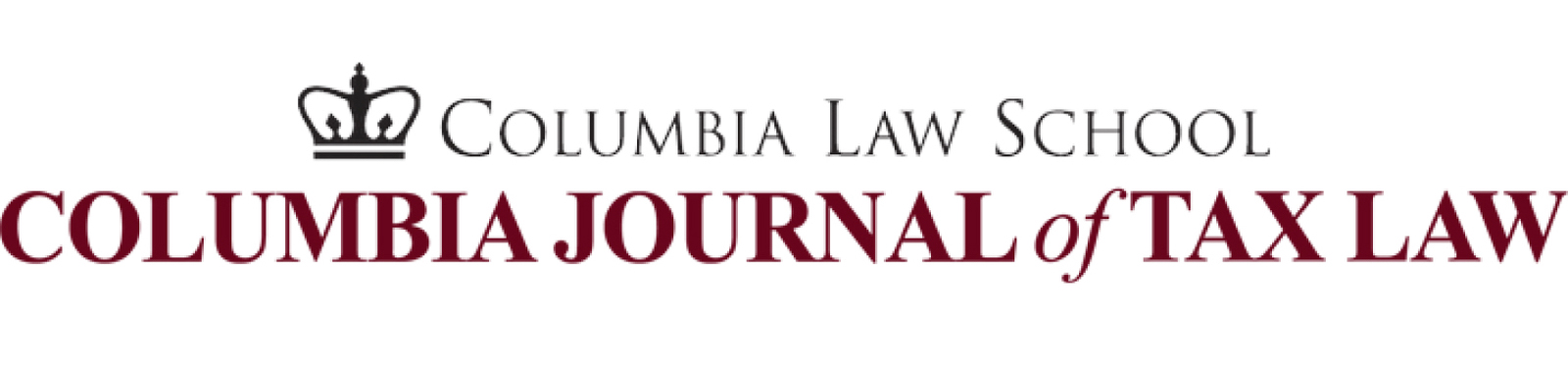 link to Columbia Journal of Tax Law site